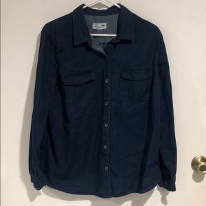Button Down Navy Old Navy